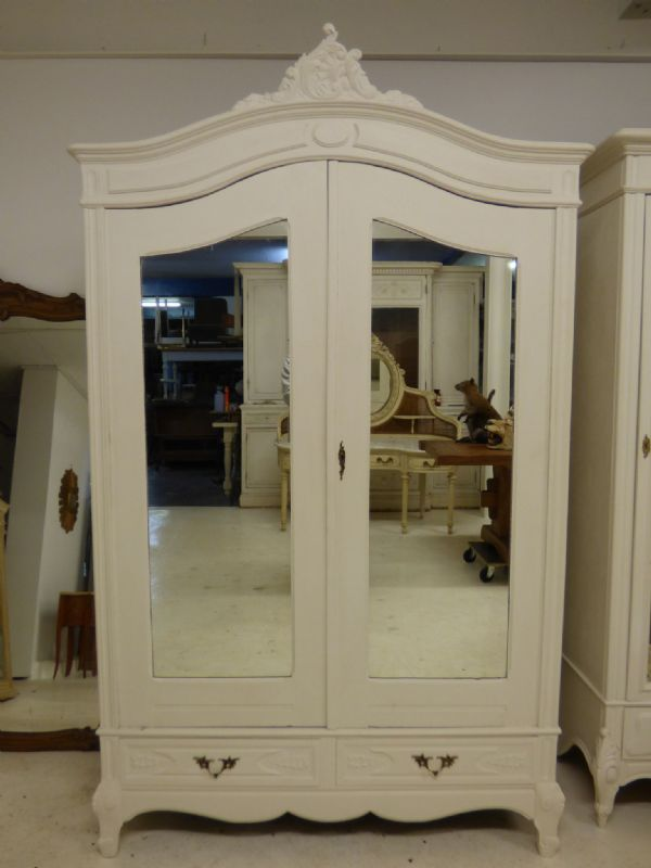 Antique French Armoire - French Wardrobe- New In - Deep Example - SOLD